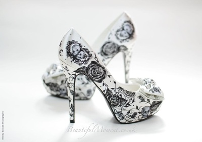 gothic wedding shoes
