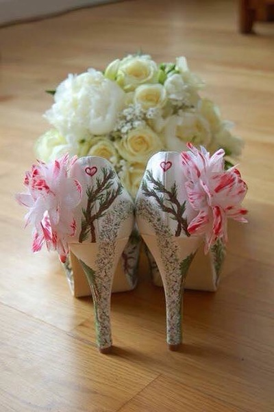 Twilight wedding shoes