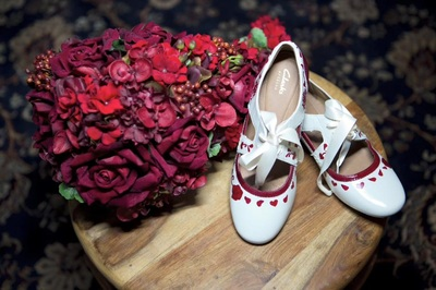 pretty shoes for bride with disability