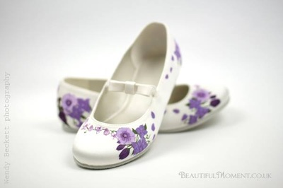 unique bridesmaid shoes