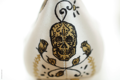 sugar skull wedding shoes