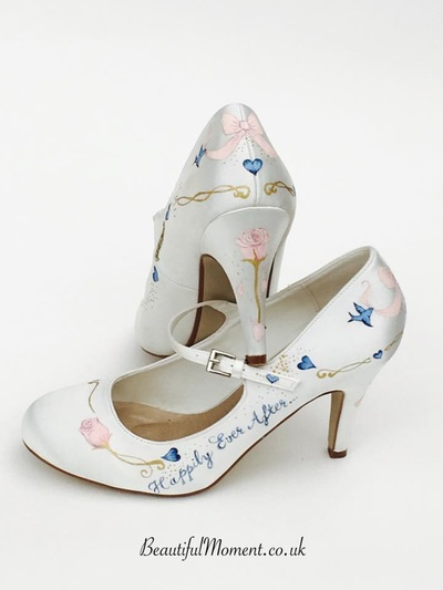 cinderella theme shoes